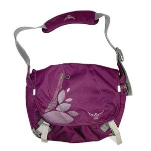 Osprey Purple Messenger Bag Crossbody